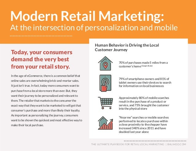 The Ultimate Playbook for Retail Local Marketing Slide 2