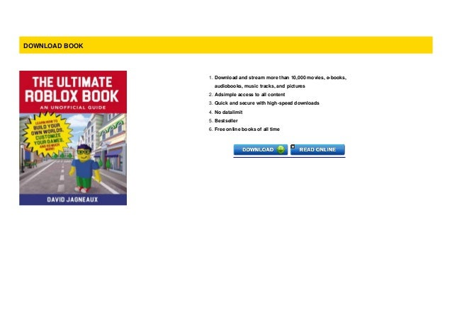 P D F The Ultimate Roblox Book An Unofficial Guide Learn How To B