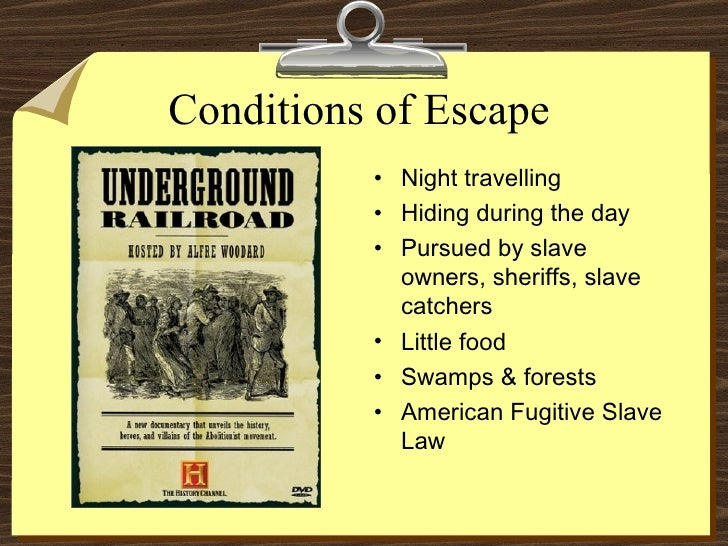 the relevance of the underground railroad on the plight of slavery