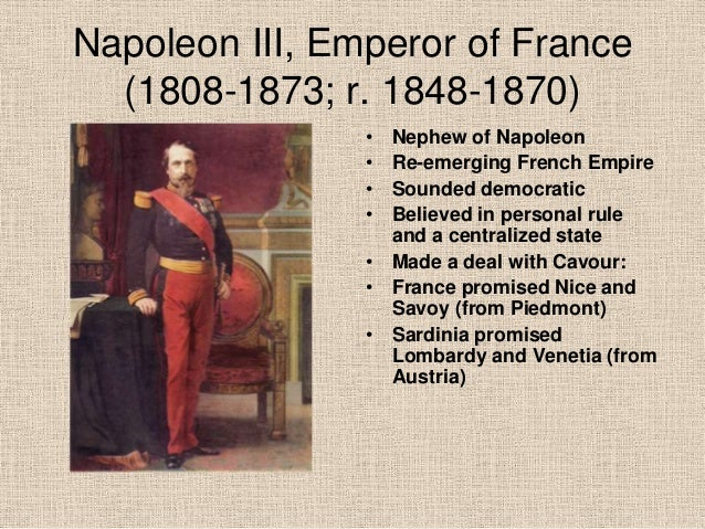 napoleon iii the pragmatic emperor France will today request the return to french soil of the remains of its last emperor and first president, napoleon iii after lying ignored in a crypt in an english abbey for 120 years, the.