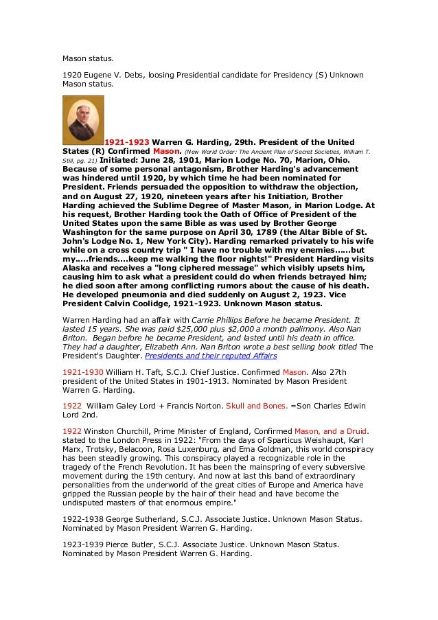 The united states presidents and the illuminati the masonic power s 22 fandeluxe Images
