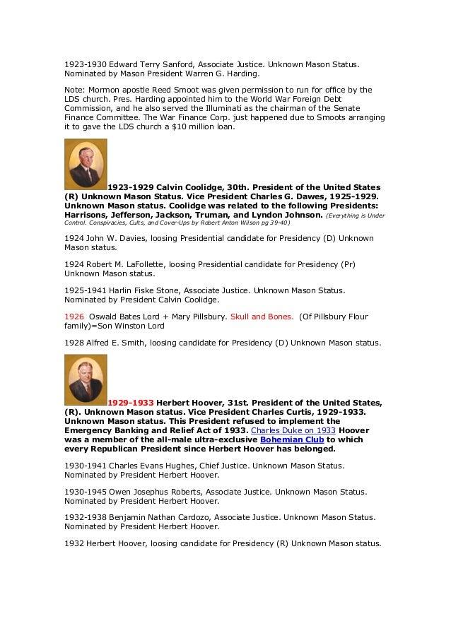 The united states presidents and the illuminati the masonic power s 23 fandeluxe Images