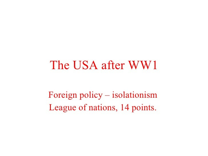 the impact of the shift in american foreign policy from isolationism to interventionism The history of american foreign policy  isolationism or non-interventionism was a tradition in america's foreign policy for its first two centuries  the united states ' isolationist policies were replaced by more interventionism in part, this foreign policy shift sprung from euro-american relations and public fear on september 1.