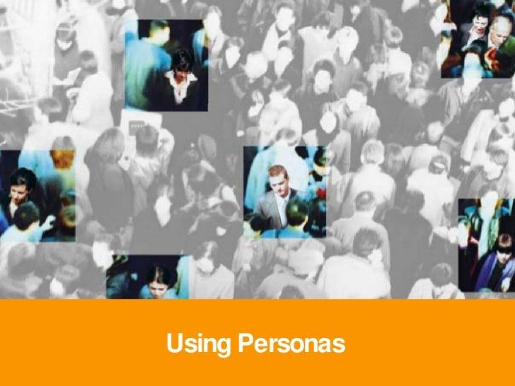 Using Personas