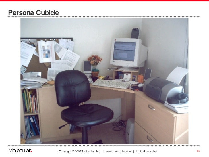 Persona Cubicle