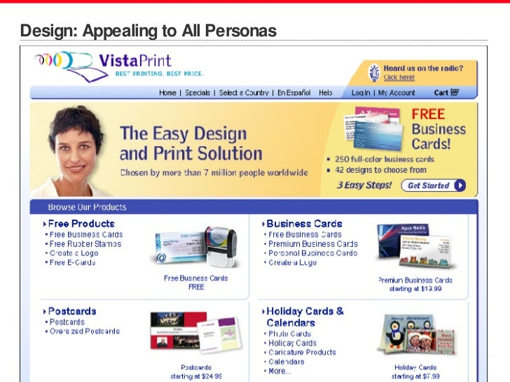 Design: Appealing to All Personas