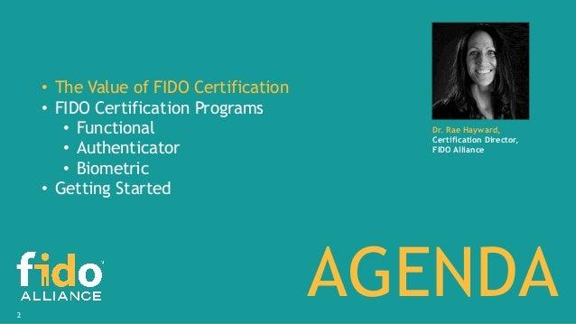 The Value of FIDO Certification Slide 2