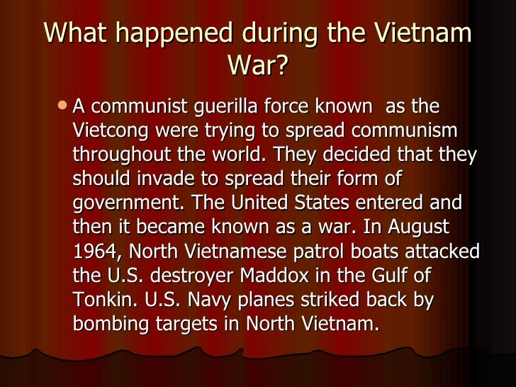 an analysis of how and why the united states got involved in the vietnam war The vietnam war summary big picture analysis & overview of the vietnam war  aided by both the soviet union and the united states during the war years, the viet.