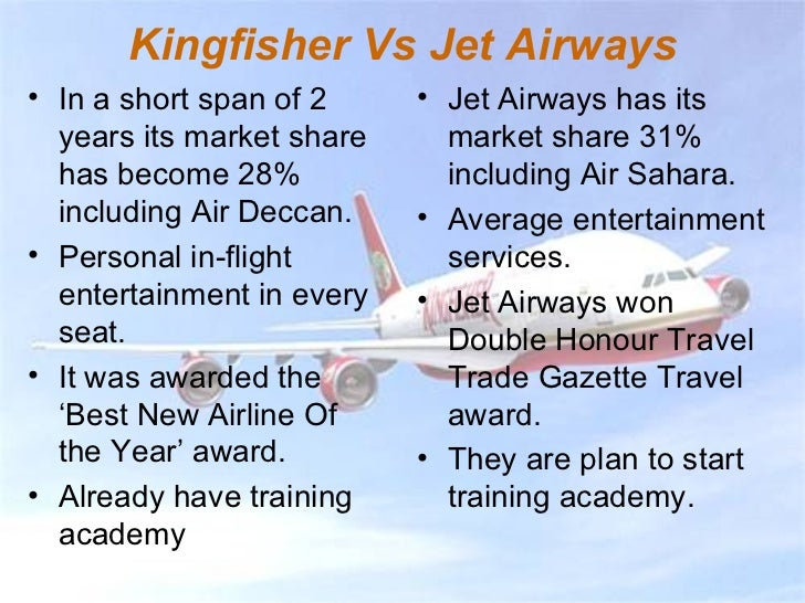 The War Between Kingfisher And Jet Airways
