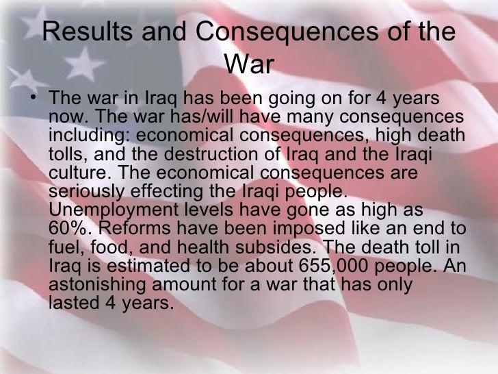 an essay on war in iraq