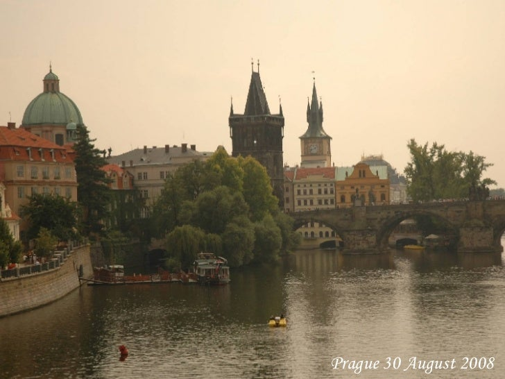 Prague 30 August 2008