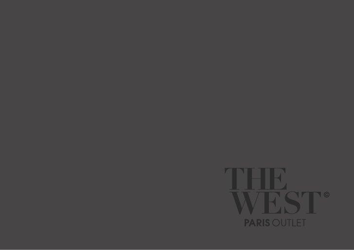 Plaquette de présentation The West Paris Outlet