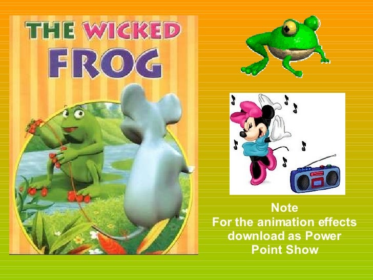 Note For the animation effects download as Power Point Show
