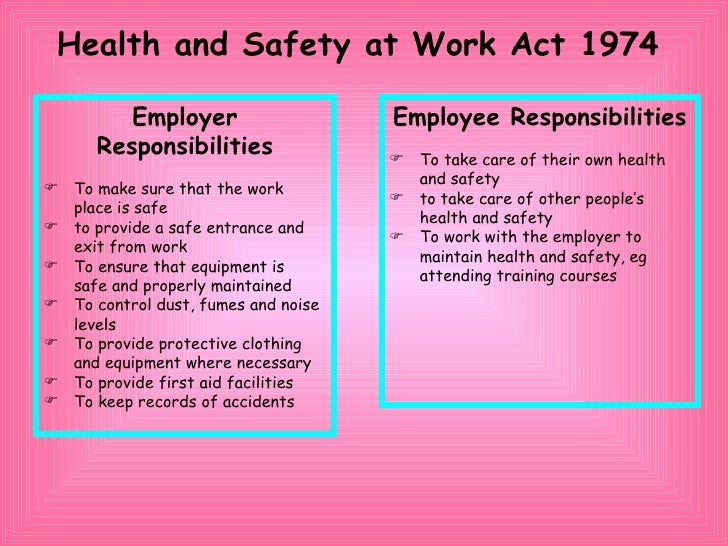 issues of healthcare work and safety for employees Members of the national safety council consulting services group travel across the country – and the world – to visit worksites and conduct safety audits they share with safety+health seven hazards they frequently spot, and offer advice on preventing them.
