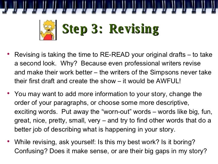 drafting in the writing process What is process writing why should teachers be interested in a process approach to writing the changing roles of teacher and students.