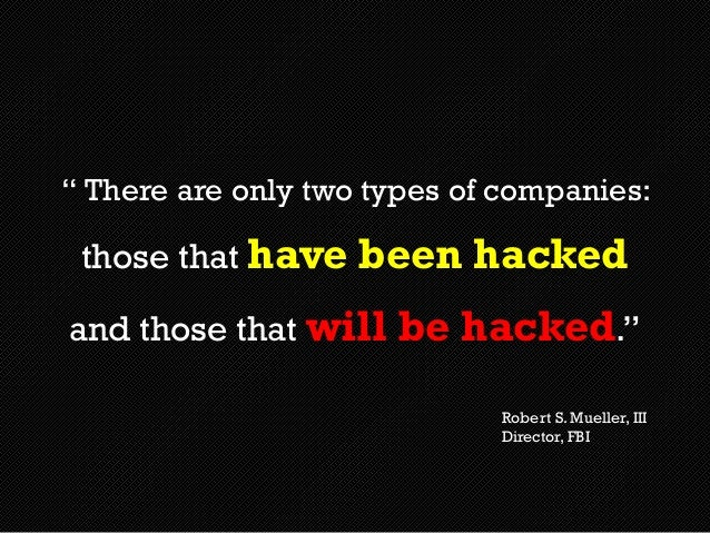 Image result for there are two types of companies those who have been hacked fbi