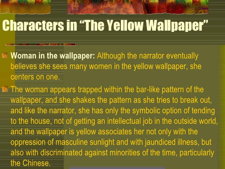 Characters In The Yellow Wallpaper