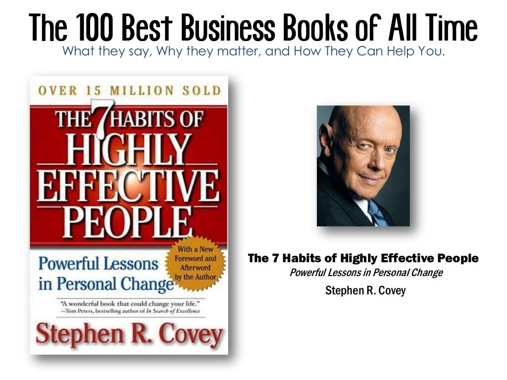 Best Book Cover All Time : The best business books of all time