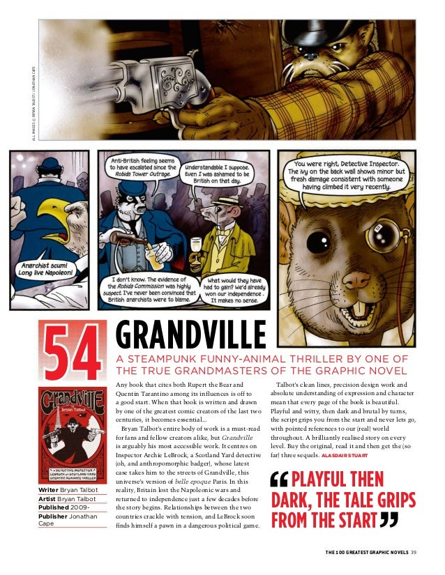 PAUL GRAVETT 38 THE 100 GREATEST GRAPHIC NOVELS 39