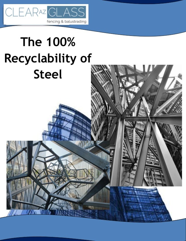 (DO NOT STRETCH IMAGE. DO NOT PIXELATE.) The 100% Recyclability of Steel
