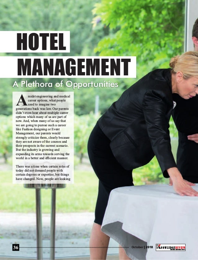 The 10 best hotel management institutes in india 2018