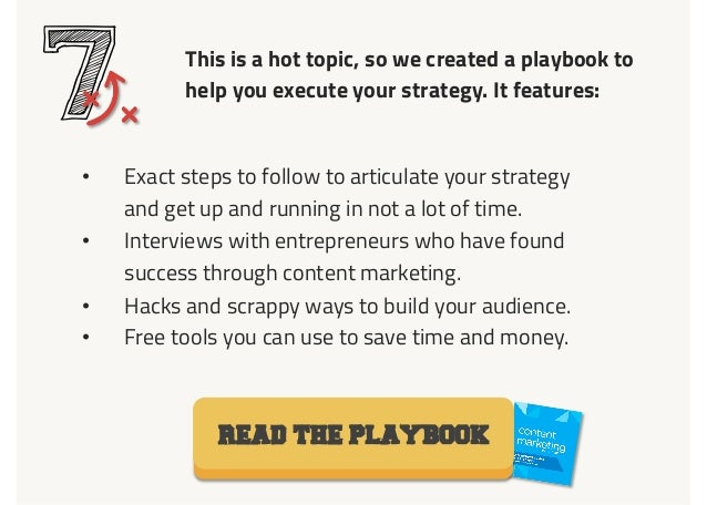 This is a hot topic, so we created a playbook to help you execute your strategy. It features: 7• Exact steps to follow to...