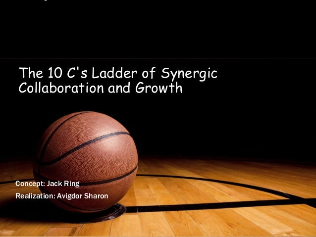 1The 10 Cs Ladder of SynergicCollaboration and GrowthConcept: Jack RingRealization: Avigdor Sharon