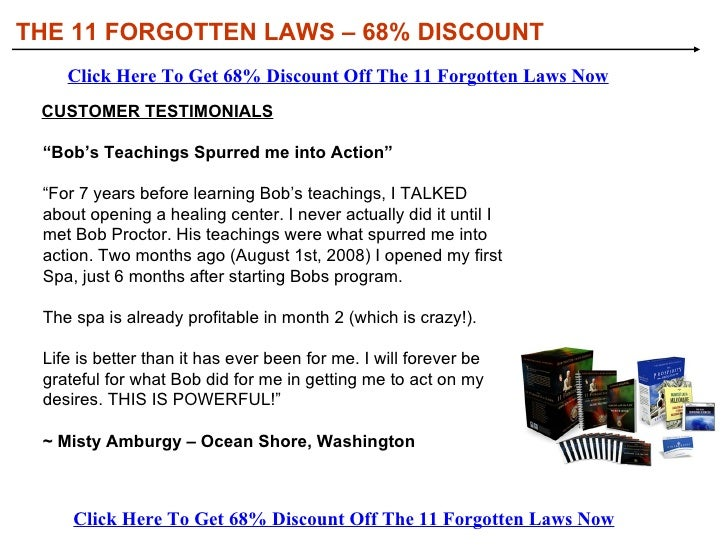 THE 11 FORGOTTEN LAWS – 68% DISCOUNT Click Here To Get 68% Discount Off The 11 Forgotten Laws Now Click Here To Get 68% Di...