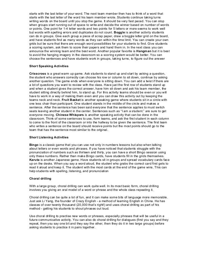 Tefl Lead In Examples For Essays - image 7