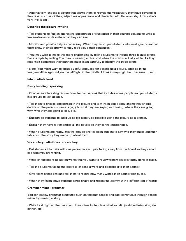 Tefl Lead In Examples For Essays - image 2