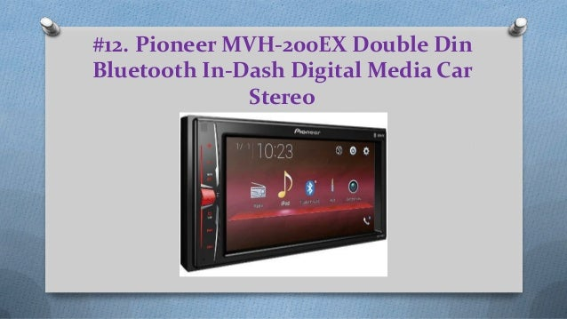 The 12 best double din car stereos products reviews