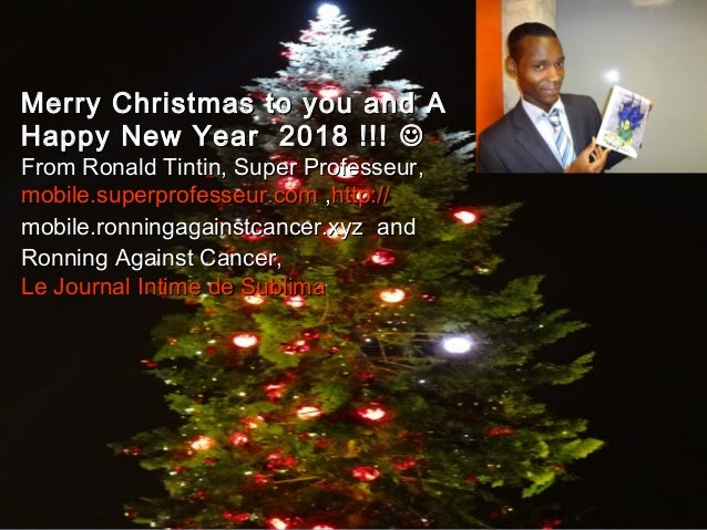 www.SuperProfesseur.com Specialized in Coaching, Mar1 Merry Christmas to you and A HappyMerry Christmas to you and A Happy...