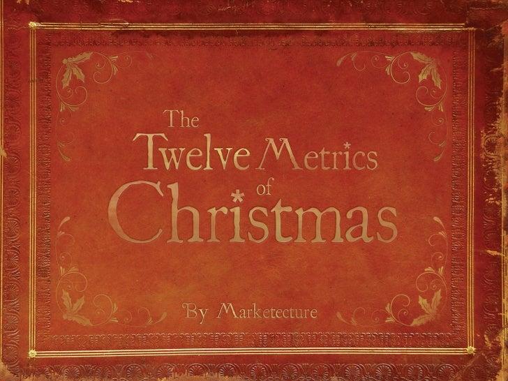 The 12 metrics of Christmas