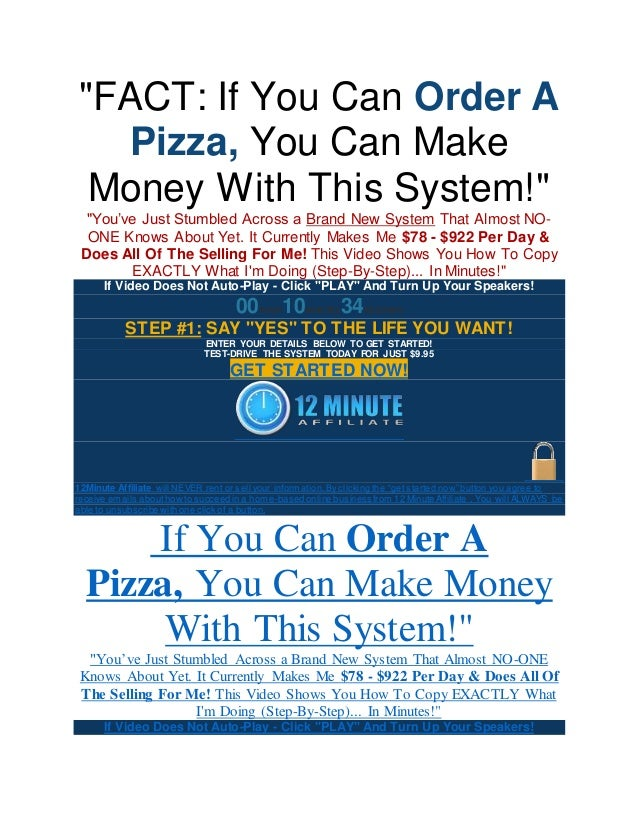 Affiliate Marketing 12 Minute Affiliate System Coupons Current May 2020