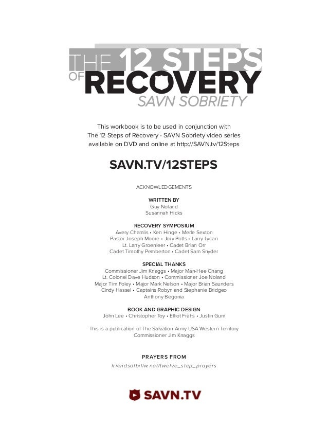 Worksheets 12 Steps Of Na Worksheets the 12 steps of recovery savn sobriety workbook