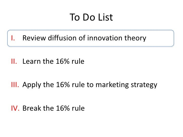 applying diffusion of innovations Diffusion is the process by which an the diffusion of innovation theory analysis how the social rogers proposed four elements of diffusion of innovations.