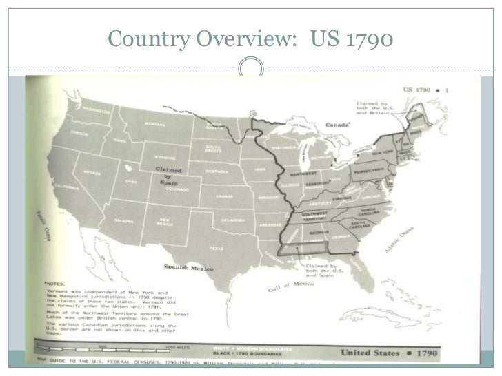 The Census - Map guide to the us federal censuses 1790 1920