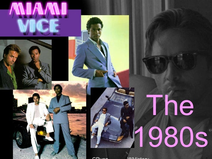The 1980s CRyan  WHistory