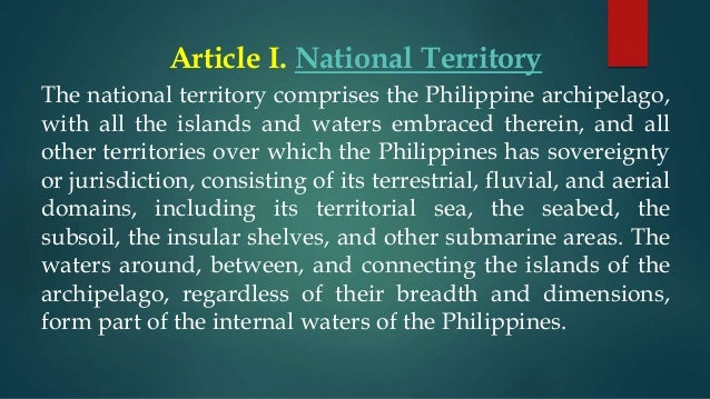 article xii national economy and patrimony Justice isagani a cruz made it clear  this remains to be seen hardly known to many, the provisions of article xii - national economy and patrimony,.
