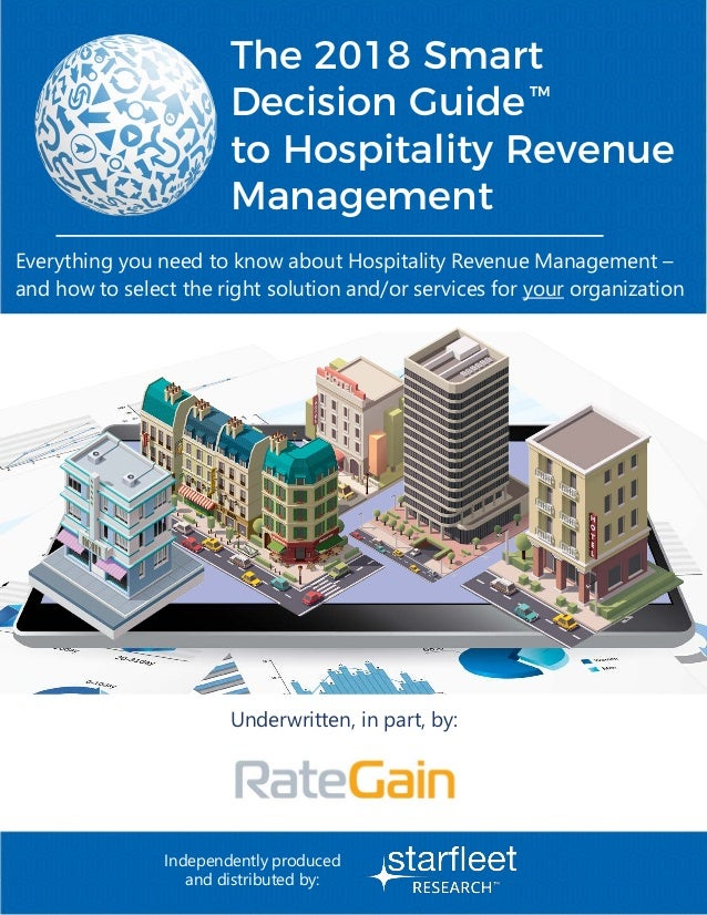 Everything you need to know about Hospitality Revenue Management – and how to select the right solution and/or services fo...