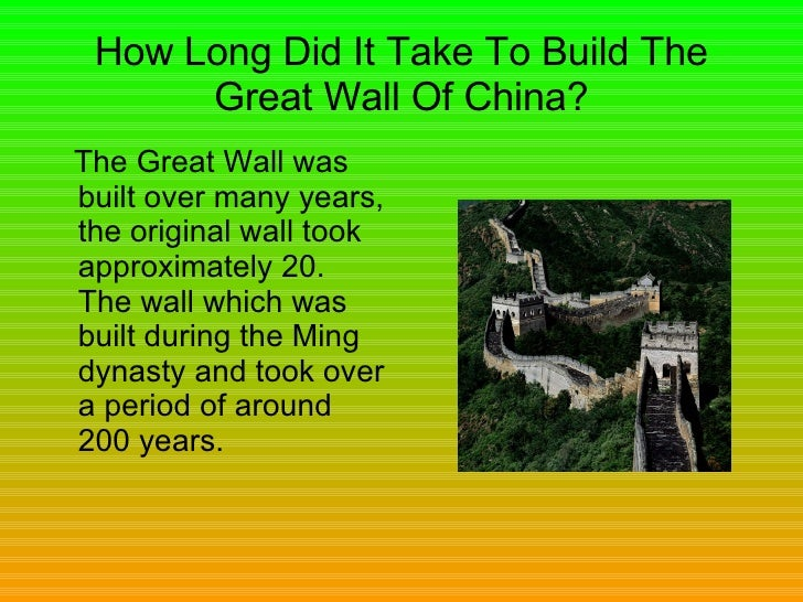 The Great Wall By James Chapman 1