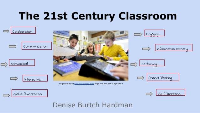 The 21st Century Classroom Denise Burtch Hardman Collaboration Communication Networked Interactive Engaging Information li...