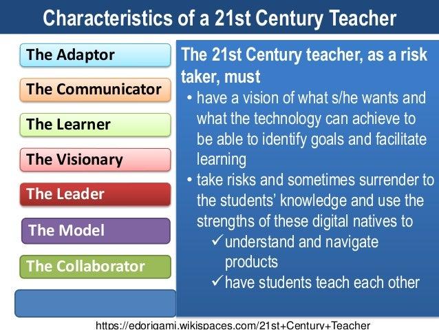 The 21st century teacher and learner