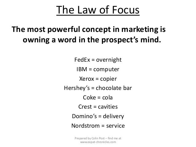 immutable laws of marketing Find great deals on ebay for the 22 immutable laws of marketing shop with confidence.