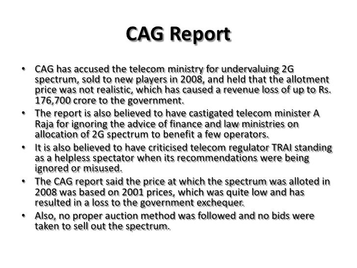 3g spectrum scam report Spectrum held by the defence sector should be released to mobile firms: idea  the 2g scam is helping existing  beyond 2g to 3g and 4g the quantum of spectrum,.