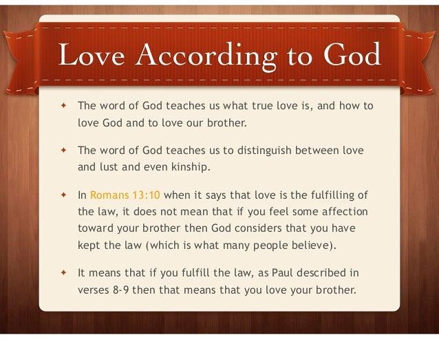 Love According