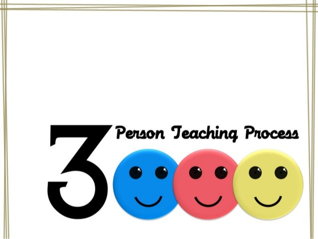 The 3-Person Teaching Process