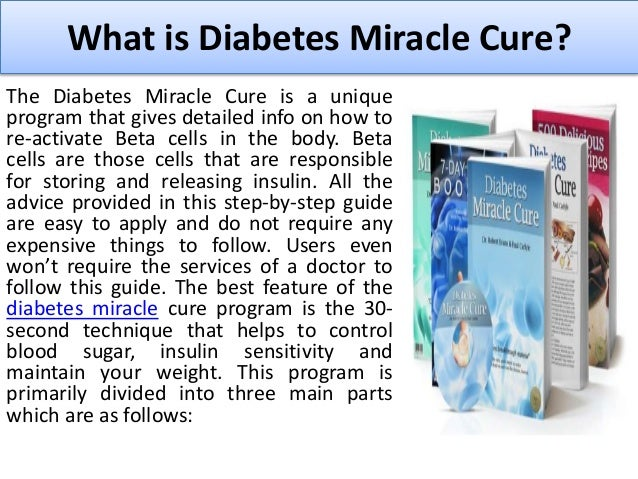 2. What is Diabetes Miracle Cure?