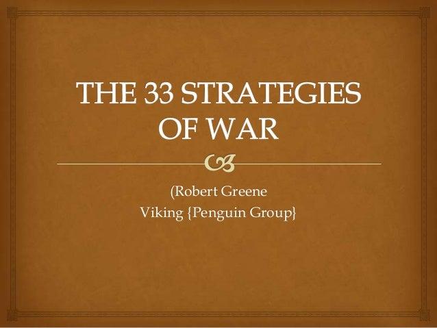 (Robert Greene Viking {Penguin Group}