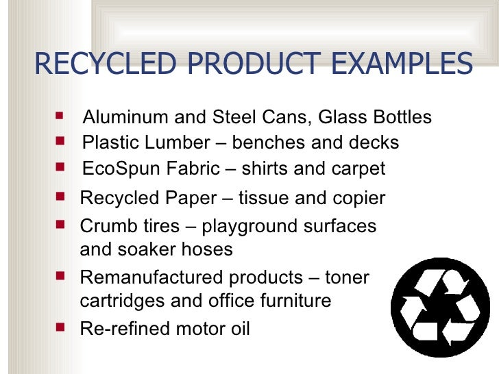 recycled essay Benefit of recycling essayeveryone is familiar with the three 'r's - reduce, reuse and recycle.